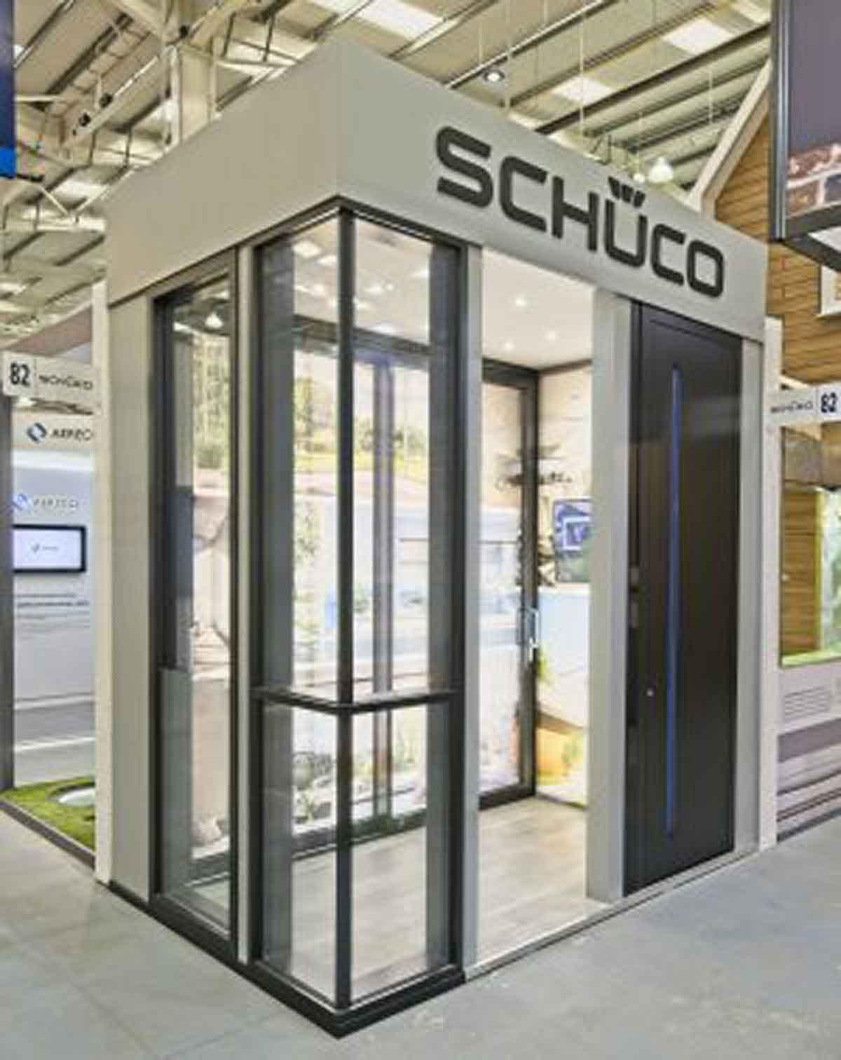Shueco Uk Exhibition Cs Glaziers Group Glass